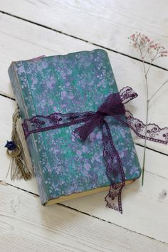 wedding guest book ,purple hand bound photo album,journal custom made in any colour - 9x6 inches by LotusBluBookArt on Etsy https://www.etsy.com/listing/204402048/wedding-guest-book-purple-hand-bound