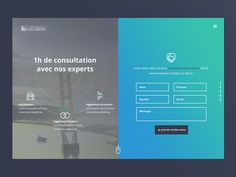 New project UI