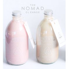 Cashew milk  Cleanse nomad juice