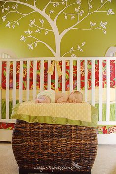 Crib Bedding background