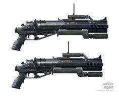 Halo Reach Grenade launcher