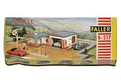 faller models - shell garage