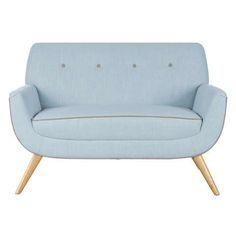 Skandi Duck Egg Snuggle Chair