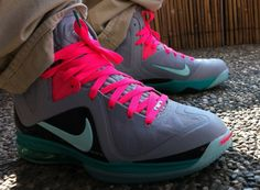 premium selection a43db bce62 Nike LeBron 9 Elite  South Beach  - More Images