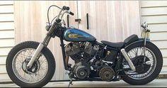 Harley Bobber, Bobber Chopper, Mechanical Workshop, Classic Harley Davidson, Easy Rider, Cool Motorcycles, Motorcycle Bike, Irons, Cool Bikes