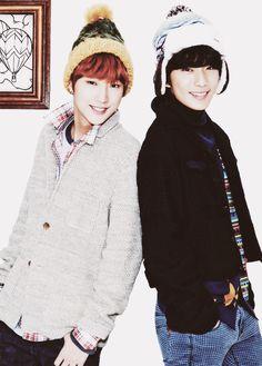 Jinyoung and Gongchan