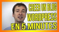 Comment créer un blog Wordpress en 5 minutes (version 2015) ;) : https://www.youtube.com/watch?v=eh_SRm8WV2M ;) #blog # blogging #blogueur