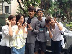 Danson, Li Jia and some other cast of Murphy's law of love