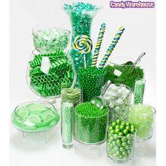 Green Candy Buffet