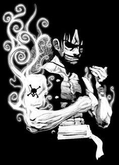 One Piece, Luffy One Piece Logo, One Piece Ace, One Piece Luffy, One Piece Manga, One Piece Wallpaper Iphone, 4 Wallpaper, Naruto Wallpaper, Original Wallpaper, Black And White One Piece