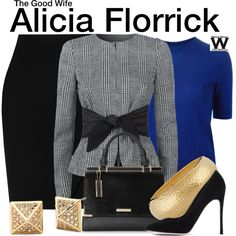 Inspired by Julianna Margulies as Alicia Florrick on The Good Wife.