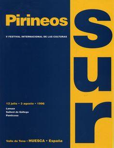 Cartel Pirineos Sur 1996 (edicion V)
