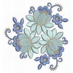 Gardens of Balmoral Combo 01 - BIG 2014 BASH | Machine Embroidery Designs set of 16 1814
