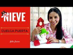 Decoremos con Santa Claus - Cuelga Puertas en Fieltro, Paso a paso - YouTube