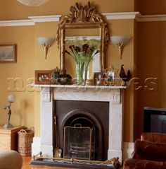 Fireplaces on pinterest victorian fireplace stone for Victorian corner fireplace