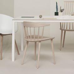 J104 chair by HAY is part of the relaunch of several pieces of the FDB furniture collection.