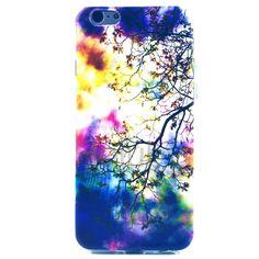 IMD Craft bunt bemalten TPU für iPhone 5C Tree & Sun