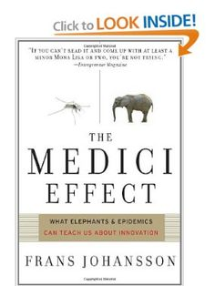 Medici Effect: What Elephants and Epidemics Can Teach Us About Innovation: Frans Johansson: 9781422102824: Amazon.com: Books