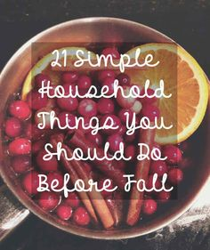 21 Simple Household Things You Should Do Before Fall