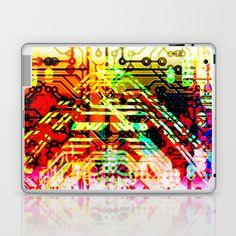 Color circuit Laptop & iPad Skin by seb mcnulty - $25.00