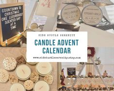 🕯🎄Candle Lovers Rejoice 🕯🎄PRE-ORDER Candle Advent Calendar | 25 Different Candle Gift Set | Christmas Countdown Calendar | Advent Calendar Candle Lovers | Best Gifts www.sidehustleserenity.etsy.com