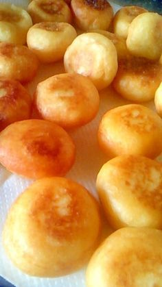 """""""Potato puffs"""" - japanese recipe/ポテトパフ Sweets Recipes, Lunch Recipes, Cooking Recipes, Pasta Recipes, Bread Recipes, Donuts, Good Food, Yummy Food, Healthy Comfort Food"""