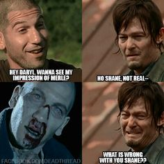 {Walking Dead} this is not funny! ...maybe just a little..haha!!