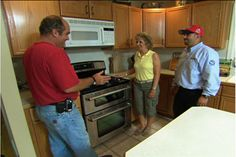 with plumbing and heating contractor Richard Trethewey   thisoldhouse.com   from How to Install a Propane-Fueled Stove