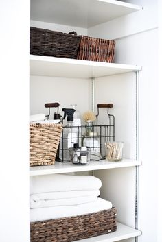 Using Kondo's method for organizing any closet in your home! loving these tips and tricks for storage and organization for my small space.