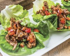DCD's BRAND NEW Cantonese Cocoa Seasoning Blend is perfect in this Cantonese Cocoa-Yaki Lettuce Wrap recipe. MUST TRY!