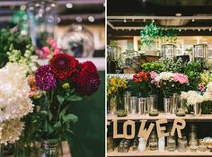 Flower Potluck Party at West Elm