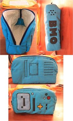 Adventure Time BMO pencil case... I WANT