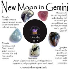 New Moon in Gemini tomorrow- Here's my crystal interpretations for the energies afoot #newmoon #gemini #crystals #crystalhealing #crystalshop #crystalhead #crystallove