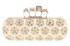 alexander mcqueen knuckle clutches... these are works of art