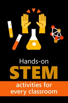STEM lesson plans & hands-on activities High School Activities, Hands On Activities, Stem Activities, Classroom Activities, Stem High School, Middle School, Stem Curriculum, Stem Classes, Math Stem