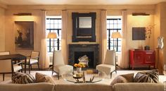 David Scott Interiors | Classic Gallery | Central Park West Tower Residence