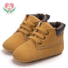 2cc2ae7d9a24 0-18M Soft Newborn Baby Moccasins shoes lace-up kids shoes spring/autumn
