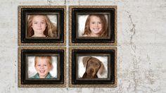 Four Kids. Creative Family Photography, by Virginia Angus, Denver, Colorado. http://raffiaroses.com