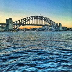 Happy Tuesday everyone. #SYDNEY #sydneyharbour #bridge #sydneyharbourbridge #sunrise_sunsets_aroundworld #tuesday #harbourcity #nsw #australia by rozza1001 http://ift.tt/1NRMbNv