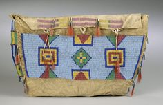 sioux possible bag   American Indian Art > .Plains > Beadwork & Quillwork