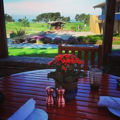 Breakfast at Torrey Pines ⛳ #golf #torreypines #golfcourse #breakfast #scenery #sandiego #lajolla #california