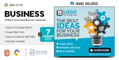 Business HTML5 Banners - GWD - 7 Sizes(BEE-CC-111)