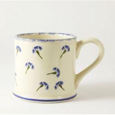 Brixton Pottery Cornflower Mug - £11.50