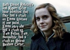 Yup good job Tom hit up ur aunt Bellatrix. I notice the only one who didn't have a crush on people is Chloe.