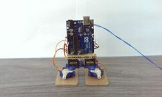 Simple Humanoid Walking and Dancing Robot (Arduino) - All