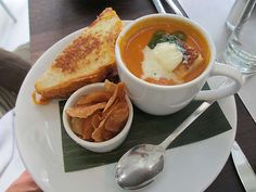 Cafeteria NY - Soup and Sammie