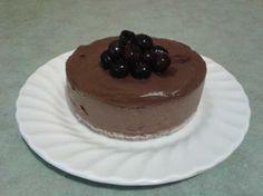 Raw Food: Vitamix: Avocado Cacao Mousse Cake