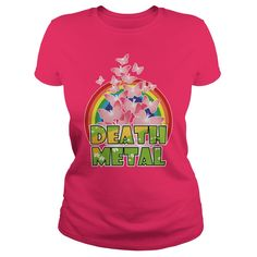 Only for the True Death Metal Fan!  ...or perfect to wear if you just want to annoy a inveterate hardcore death metal fan