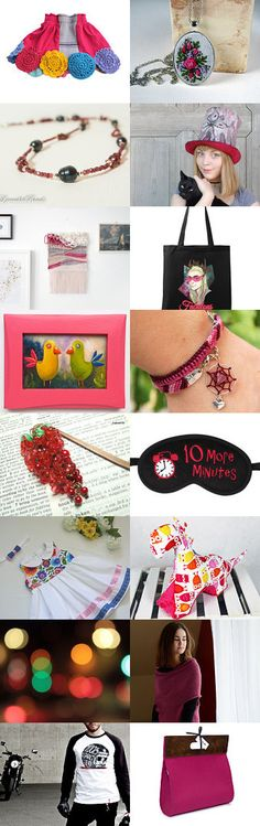 Raspberry collection from Poletsy by poletsy on Etsy--Pinned+with+TreasuryPin.com