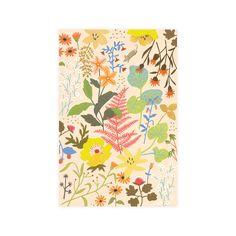 Bridgette Wildflower Notecard from Fawnsberg